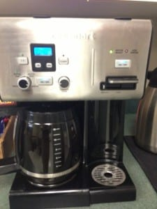 Universal Information Services Free Coffee Office Benefits