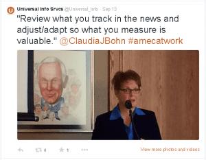 Claudia Bohn Social Media Measurement Universal Information Services