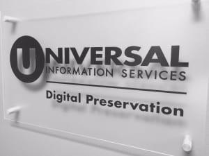 Universal Information Services provides Digital Preservation for institutions