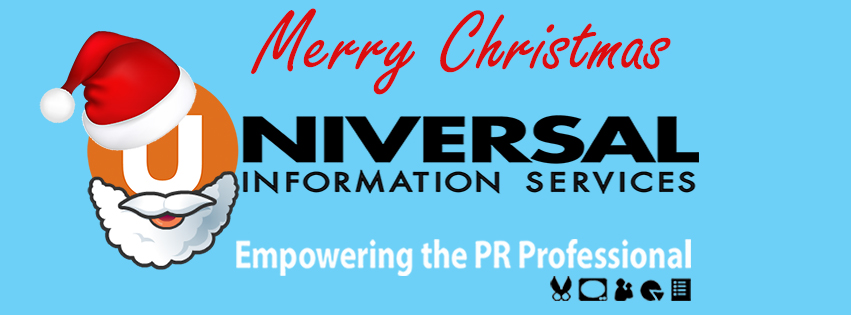 Merry Christmas and Happy New Year from Universal Information Services