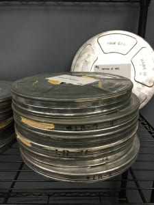 Digital preservation of 16mm film by Universal Information Services