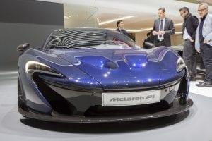 Mclaren Supercar and Apple
